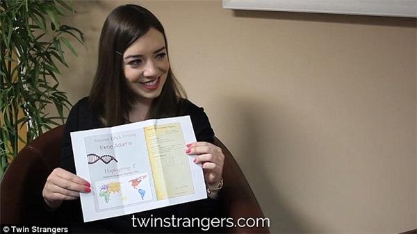 Các kết quả DNA khiến cả hai cô gái vô cùng ngạc nhiên.(Ảnh: Internet)