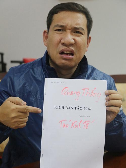 Nghệ sĩ Quang Thắng đau đầu với kịch bản dày lên đếnhàng chục trang. - Tin sao Viet - Tin tuc sao Viet - Scandal sao Viet - Tin tuc cua Sao - Tin cua Sao