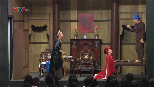 Gia Bảo đụng độ mẹ ghẻ Việt Hương
