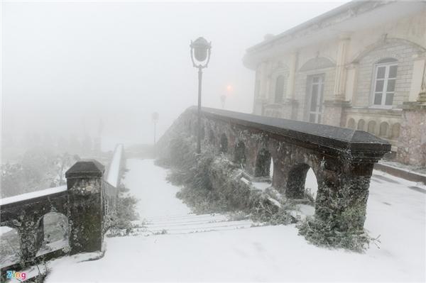 Tràn ngập ảnh tuyết rơi trên mạng xã hội