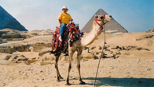 Một tấm ảnh kỉ niệm của Sonya trên hành trình chinh phục thế giới (Ảnh: goltis)
