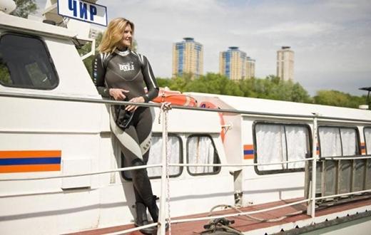 Oksana rất hạnh phúc với nghề nghiệp mới của mình. (Ảnh: moscvichka)