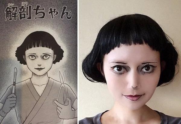 Cô gái xinh đẹp nổi tiếng nhờ hóa thân thành các nhân vật truyện tranh