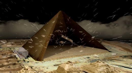 Hạt Muyon từng bay vào kim tự tháp sẽ là vật để xác định cách xây dựng. (Ảnh: Internet)
