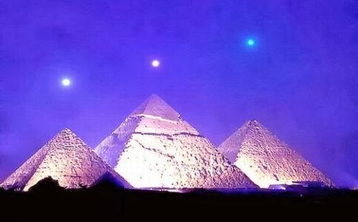 Công trình vĩ đại và bí ẩn của người Ai Cập cổ đại. (Ảnh: Internet)