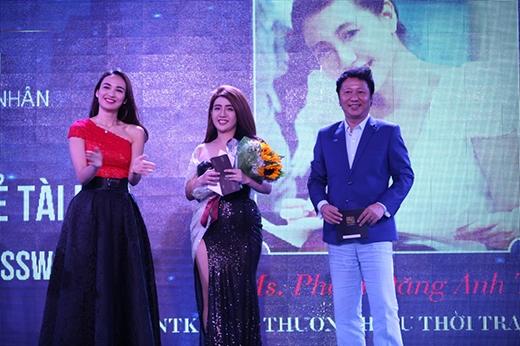 """Giải """"Nữ doanh nhân trẻ tài hoa"""" là Nhà thiết kế Phạm Đăng Anh Thư – Chủ thương hiệu thời trang Joli Poli."""