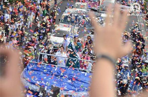Lễ diễu hành bắt đầu từ 2 giờ chiều, đi qua đoạn đường gần 6 km, bắt đầu từ khách sạn Sofitel Philippine Plaza Manila và kết thúc tại đại lộ Ayala ở Makati.