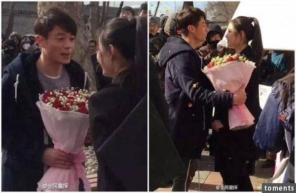 Hoắc Kiến Hoa gây sốt vì cầm hoa cầu hôn Nghê Ny