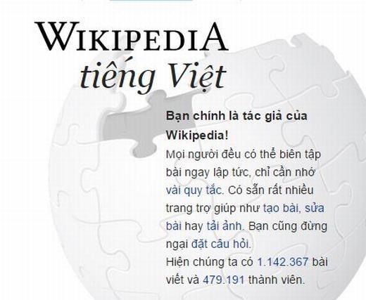 Việc mọi người có thể chỉnh sửa thông tintrên Wikipedia... (Ảnh: Internet)