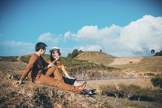 Bộ ảnh cưới đẹp như mơ ở Mộc Châu của cặp đôi