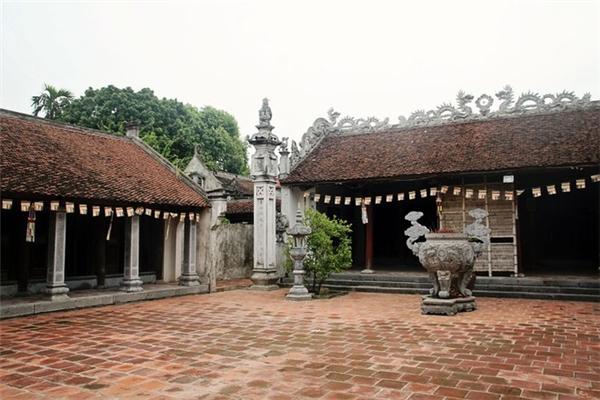 Ngôi chùa với quần thể kiến trúc cổ kính. (Ảnh: Internet)