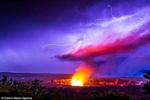 Núi lửaHalemaumau Crater. (Ảnh: Internet)