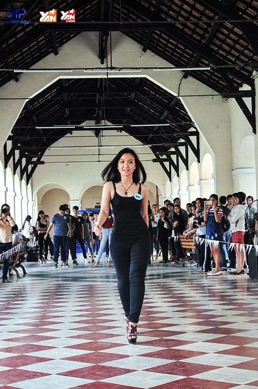 Hoành trángsân khấu thời trang Festival Lê Hồng Phong