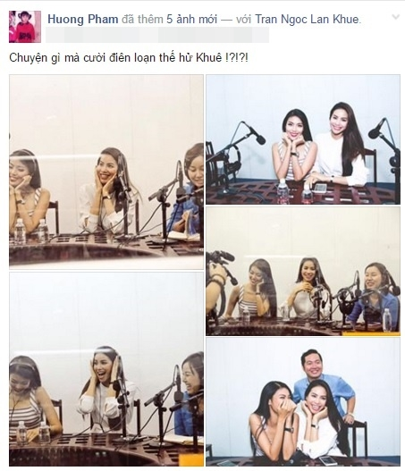 """Hình ảnh thân thiết của Lan Khuê và Phạm Hương """"đánh bay"""" tin đồn bất hòa. - Tin sao Viet - Tin tuc sao Viet - Scandal sao Viet - Tin tuc cua Sao - Tin cua Sao"""