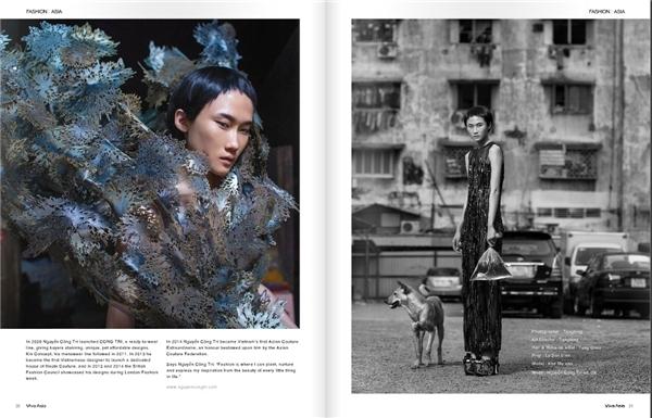 Hàng loạt trang báo, thông tin của Nhật Bản đã đăng tải hình ảnh cùng thông tin của nhà thiết kế đến từ Việt Nam như một lời chào đón nồng nhiệt.