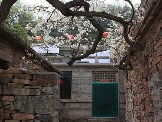 Các ngôi nhà trong làng vẫn giữ nguyên phong cách kiến trúc thời Minh - Thanh. (Ảnh: Internet)