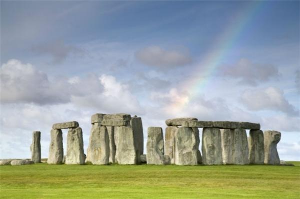 Hình ảnh bãi đá cổ Stonehenge quen thuộc. (Ảnh: Amanda White)