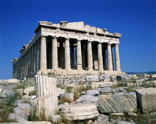 Thành cổ Acropolis ở Athens. (Ảnh: Imgur)