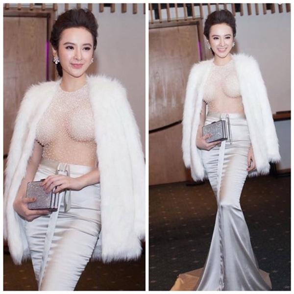 Màn khoe ngực gây sốc của nữ diễn viên với áo voan mỏng tang như sương khói - Tin sao Viet - Tin tuc sao Viet - Scandal sao Viet - Tin tuc cua Sao - Tin cua Sao