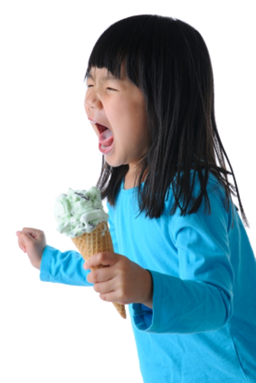 Từ nay về sau bạn có thể thoải mái ăn kem và đá bào rồi.(Ảnh: Internet)