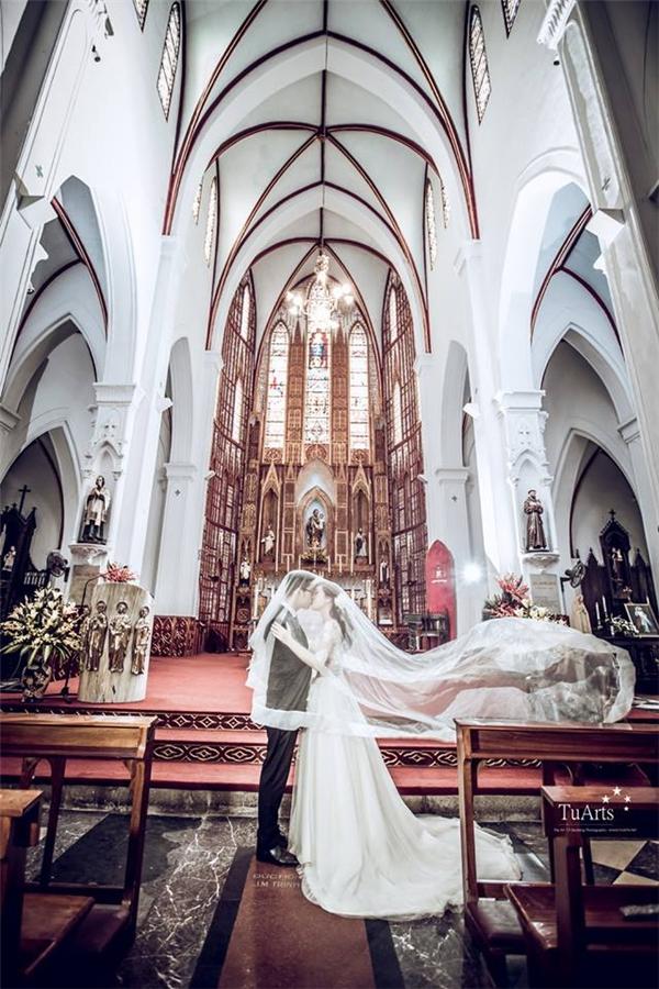 """Những góc ảnh cưới chụp lên trong """"lung linh tới ngỡ ngàng"""". (Ảnh: Internet)"""