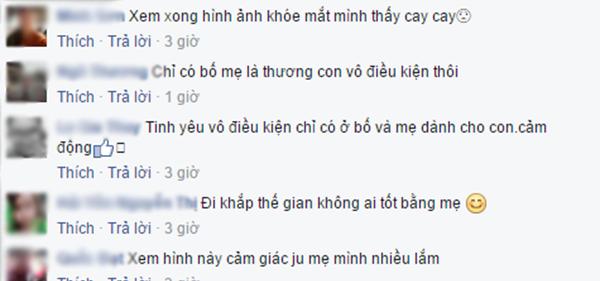 Những bình luận đồng cảm của cư dân mạng. (Ảnh chụp màn hìnhFBNV)