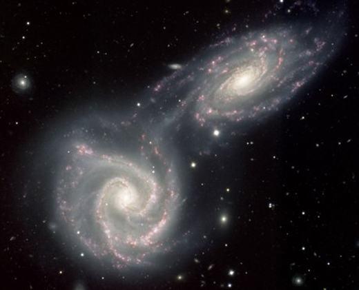 Andromeda đang bay đến với vận tốc khá lớn. (Ảnh: Internet)