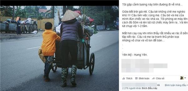Chỉ chưa đầy một giờ đồng hồ đăng tải, bức ảnh đã thu hút tới hơn 2.000 lượt thích.(Ảnh: Internet)