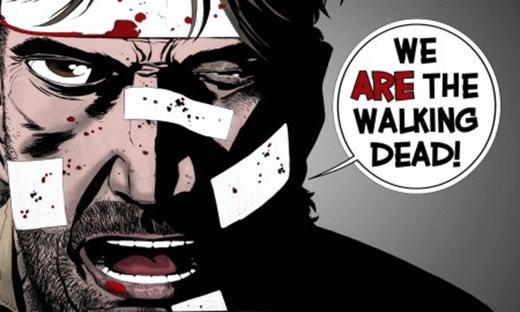 """""""Chúng ta là những xác chết biết đi!"""" (Ảnh: Internet)"""
