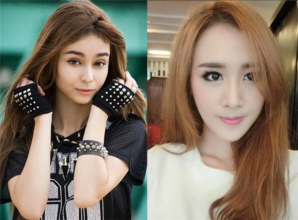 """""""Bông hồng lai"""" Mlee sở hữu vẻ đẹp quyến rũ và cá tính. Hot girl Tang Kwakwa gây ấn tượng với vẻ ngọt ngào, trong sáng."""