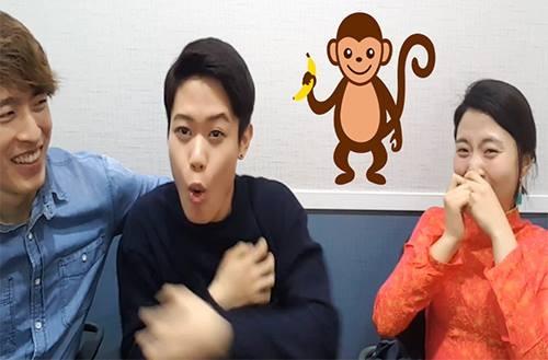 Thích thú nghe người Hàn hát