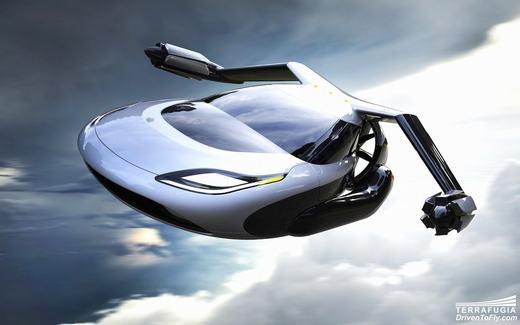 Không còn trong phim ảnh, xe bay sắp... đến với Trái Đất!