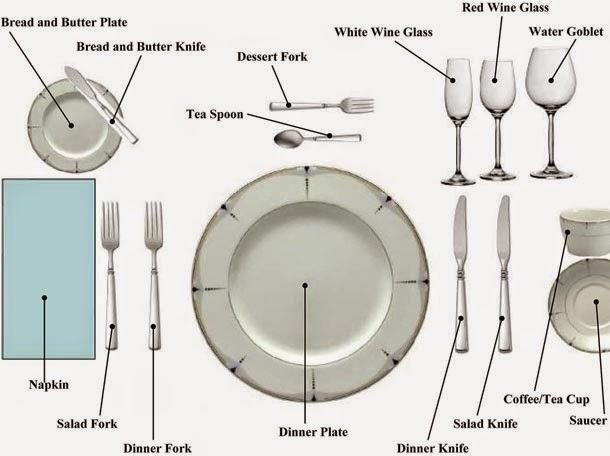 Chú thich bàn ăn đã được sắp xếp. (Ảnh: Internet)