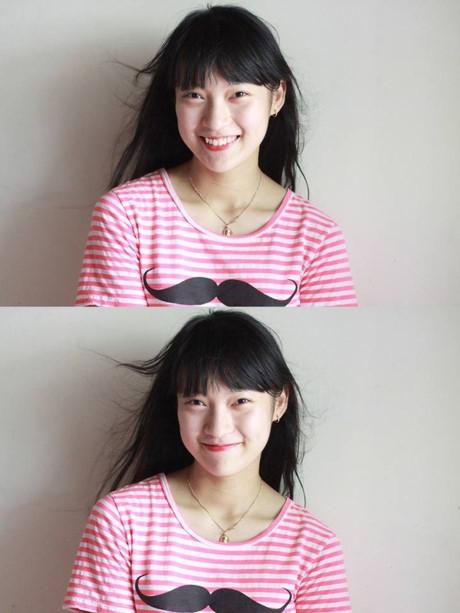 Khánh Vy có nụ cười rất duyên. (Ảnh: Internet)