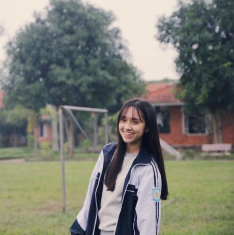 Minh Xuân hiện đang học lớp 11 chuyên Anh. (Ảnh: Internet)