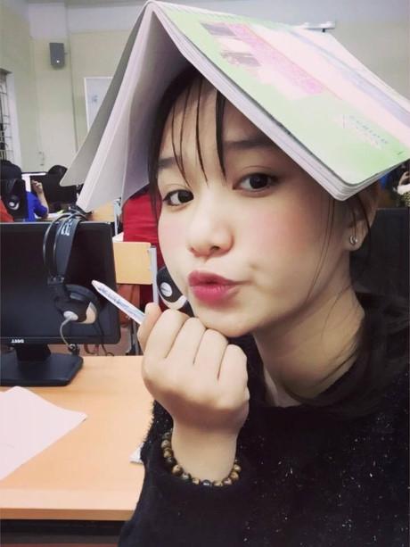 Lưu Khánh Ly là cựu học sinh lớp chuyên địa. (Ảnh: Internet)
