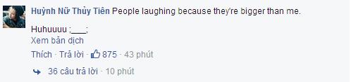"""Dòng bày tỏ """"nỗi lòng"""" của Tiên Tiên khiến khán giả bật cười. - Tin sao Viet - Tin tuc sao Viet - Scandal sao Viet - Tin tuc cua Sao - Tin cua Sao"""