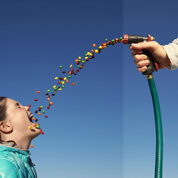 Vòi xịt kẹo. (Ảnh: Internet)