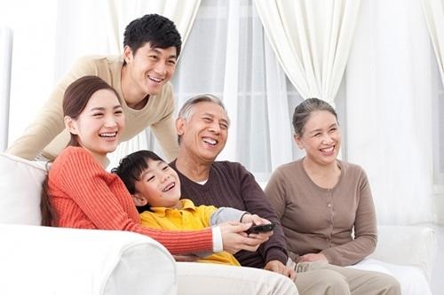 Gia đình là nơita tìm về nương náu khi gặp những khó khăn, vất vả trong cuộc sống. Ảnh minh họa: Internet
