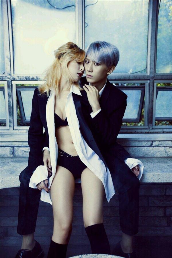 Kết hợp cùng với Hyunseung (Beast), bộ đôi Trouble Maker nhận về không ít chỉ trích vì những hình ảnh 19+, thân mật quá mức cả trong MV lẫn trên sân khấu.