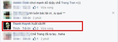 """Trấn Thành còn dành tặng """"lời khen"""" cho Thu Trang chỉ sau vài phút bức ảnh được nữ diễn viên hài chia sẻ. - Tin sao Viet - Tin tuc sao Viet - Scandal sao Viet - Tin tuc cua Sao - Tin cua Sao"""