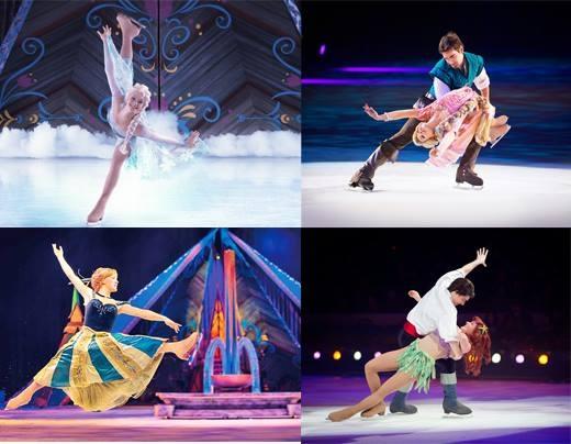 Disney On Ice presents Magical Ice Festival đã đưa những nhân vật trong cổ tích bằng xương bằng thịt bước ra ngoài đời thật và mang đến những màn biểu diễn ấn tượng cùng dàn âm thanh, ánh sáng mãn nhãn. (Ảnh: Internet)