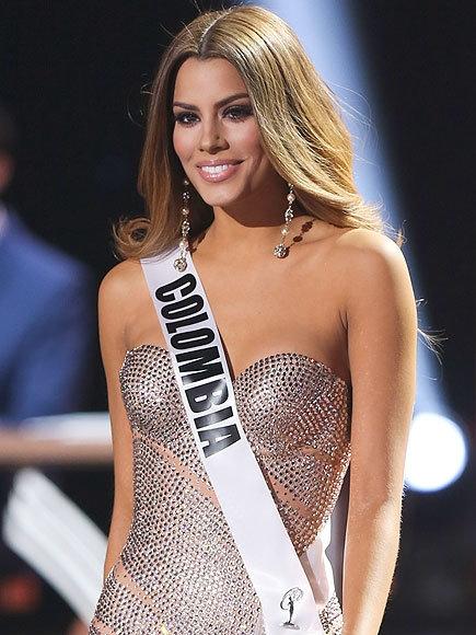 """Hoa hậu Hoàn Vũ ColombiaAriadna Gutierrez nhận được sự ưu ái của người hâm mộ sau khi """"nhận giải hụt"""" tại cuộc thi hoa hậu hoàn vũ thế giới. (Ảnh: Internet)"""