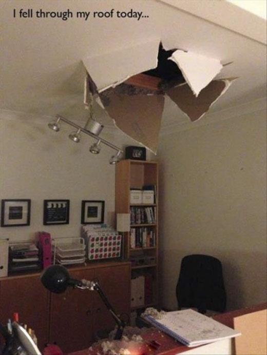 Trở thành kẻ xâm nhập gia cư bất hợp pháp khi sàn nhà của mìnhlà trần nhà của người khác. (Ảnh: Internet)