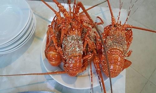 Du lịch biển mà không thưởng thức hải sản thì thật là một thiếu sót lớn. Bạn có thể mua hải sản trực tiếp từ các ghe chài và nhờ họ chế biến tại chỗ với giá rất rẻ, đảm bảo độ rất tươi ngon do được đánh bắt và tiêu thụ trong ngày.(Ảnh: Internet)