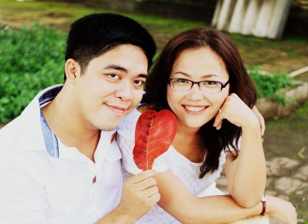 Vợ chồng anh Trần Minh.(Ảnh: FBNV)