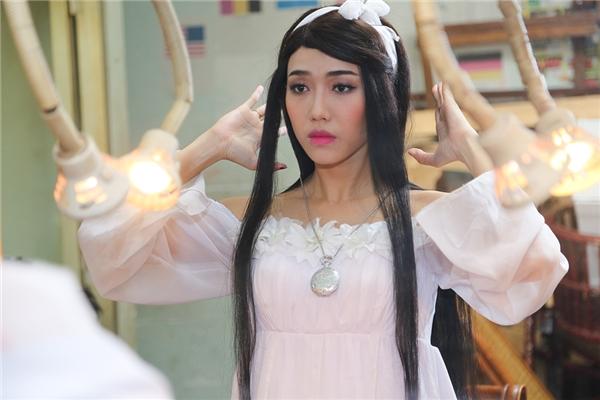 Tạo hình của Diệu Nhi cho vai diễn mới của mình. Được biết, cô vào vai một ma nữ. - Tin sao Viet - Tin tuc sao Viet - Scandal sao Viet - Tin tuc cua Sao - Tin cua Sao