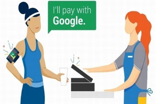 """Sắp tới bạn không cần tiền mặt, mà chỉ """"thanh toán bằng Google""""?"""