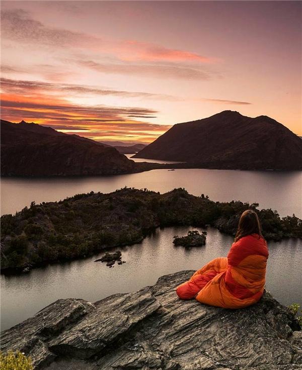 Một buổi sáng sớm tĩnh lặng giữa thiên nhiênNew Zealand.(Ảnh: Internet)