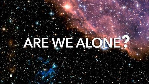 Chúng ta đang đơn độc... (Ảnh: Internet)